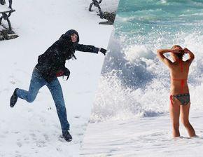 '달라도 너무 달라' 세계의 날씨