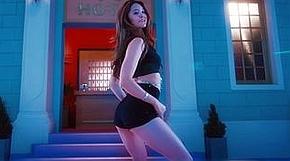 <strong>EXID 정화, 막내의 반란..환상 댄스공개</strong>