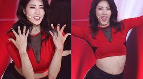 <strong>'더쇼' 민망·섹시 오가는 걸그룹 댄스</strong>