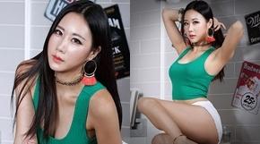 <strong>女모델, 시선 사로잡는 '절정의 꿀벅지'</strong>