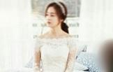 김태희, 순백의 웨딩드레스 자태 포착 '대박'