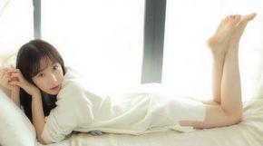 <strong>스텔라 가영, 침대 위에서 빛난 '청순미'</strong>