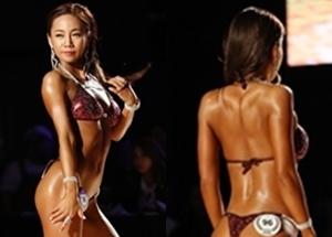 [화보] '대회장 발칵 뒤집은 女선수의 몸'