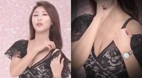 <strong>'열일(?)'하는 미모의 쇼 호스트 화제</strong>