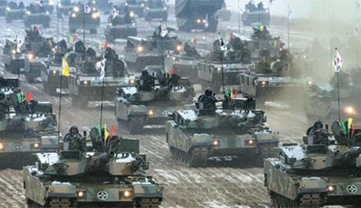 전차·장갑차 320대…軍 최대 기동훈련