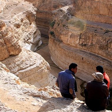 북아프리카, 튀니지 미데스 계곡을 가다
