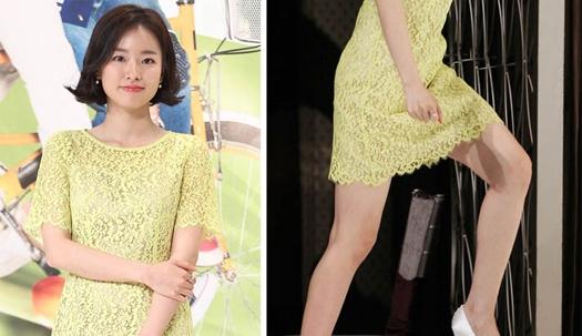 '첫사랑녀' 이시아, '아슬아슬' 오르는 계단
