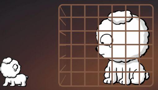 [디지털 스페셜만평] 강아지 공장