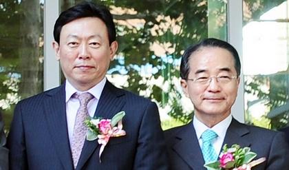 '리틀 신격호'···신동빈까지 보좌 43년 롯데맨