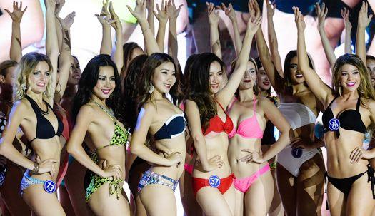 중국에 모인 세계 미인들···미스 올 네이션스