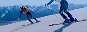 시각장애인 스키선수 설원 누빌 수 있는건