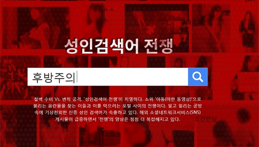 [디지털 다이제스트] 막아도 끝없는 '성인검색어 전쟁'