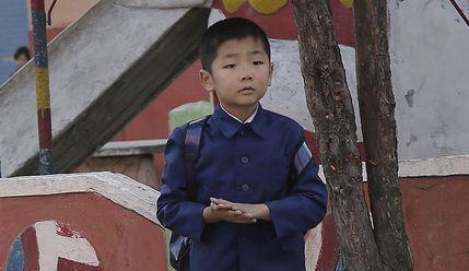사진으로 본 오늘의 북한, 한산한 주말 풍경