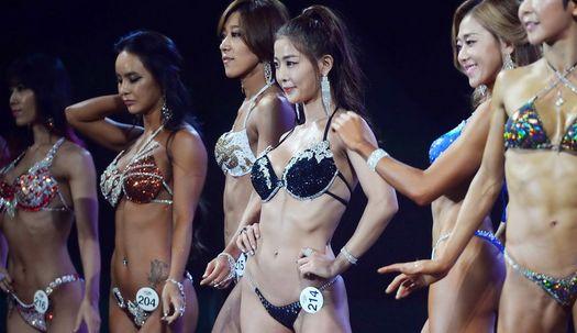 섹시ㆍ매력 각선미 ··· 피트니스모델선발대회