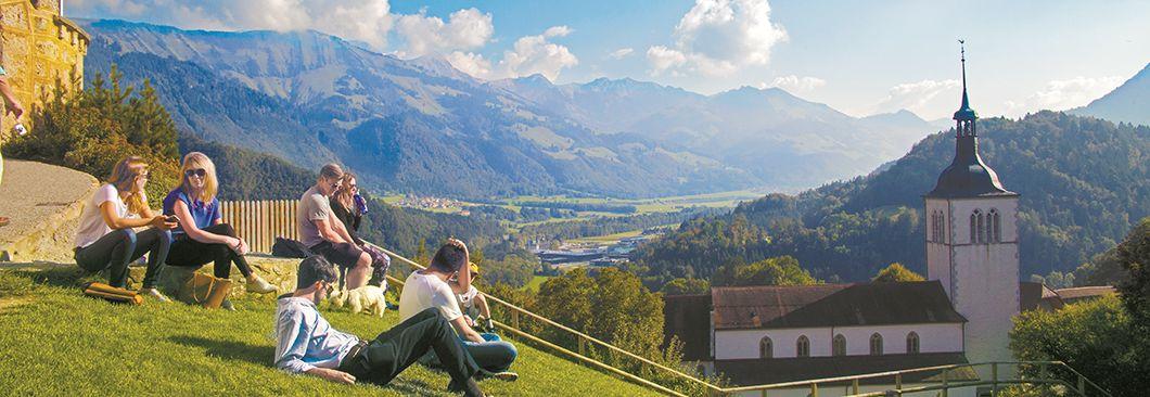 [커버스토리] 스위스 서부 작은 도시 기차여행