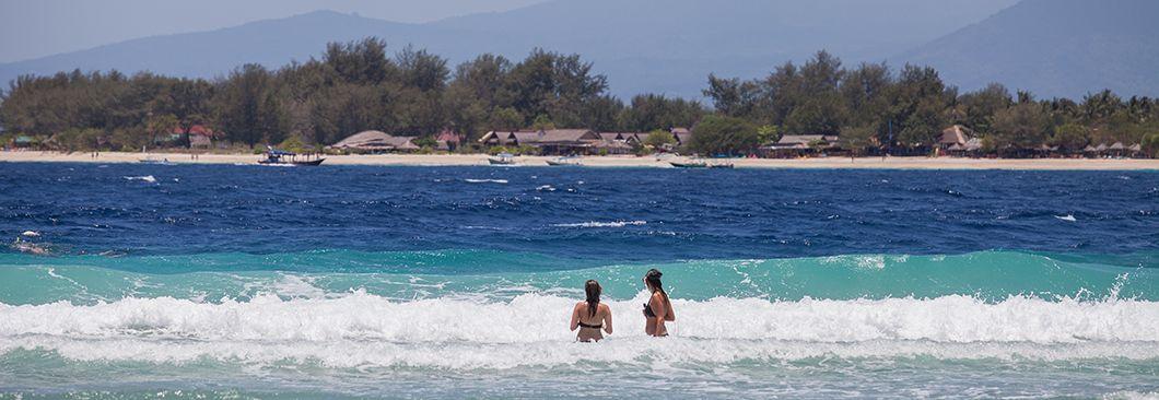인도네시아 한갓진 휴양섬