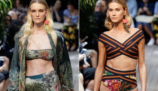 비키니에도 정글이! 브라질 패션쇼