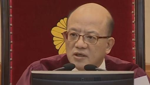 시간을 지배했던 박한철···탄핵심판 50일 주요 발언
