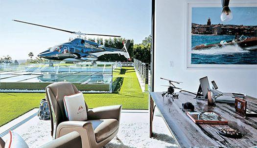 미국서 가장 비싼 집, 창밖에 헬기가···