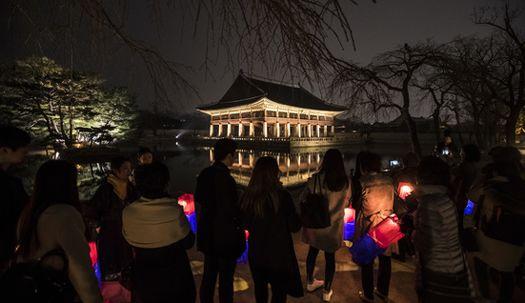 야밤에 궁궐 탐방···경복궁 별빛야행