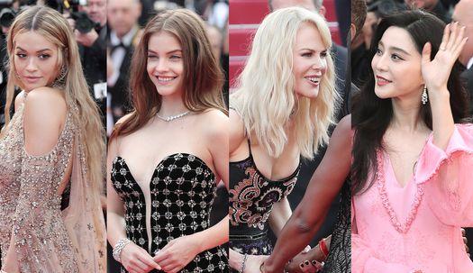 칸 국제영화제…화려한 여신들의 화려한 무대