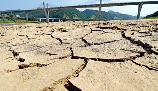 소양호 … 강원 강수량 44년 만에 최저