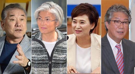 문정인·강경화·김현미·김기정 文 정부 '연대 정외'라인 뜬다