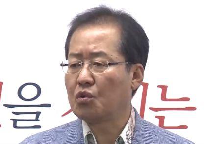 """홍준표 """"당권에 관심 없고 악역 할 이유도 없다"""""""