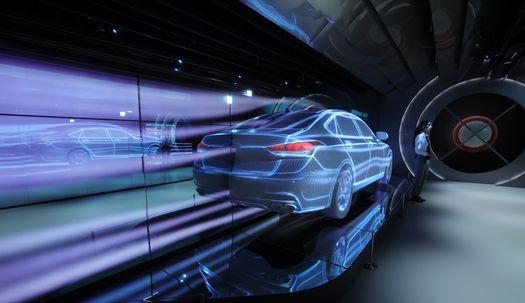 진화하는 자동차 전시장