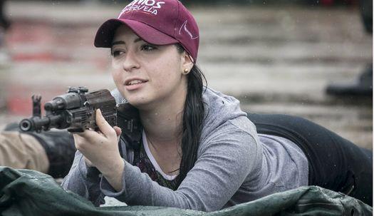 베네수엘라 민간인 반미 군사훈련