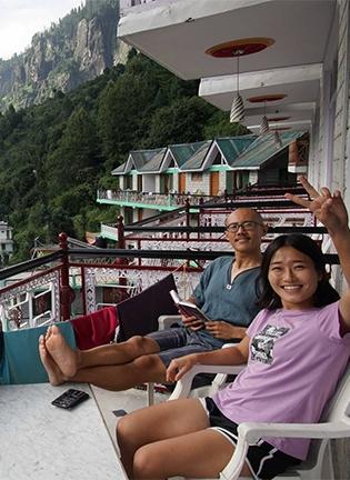 인도 안의 티베트 바쉬싯을 가다