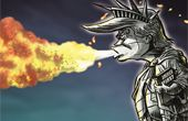 [박용석 만평] 자유의 트럼프