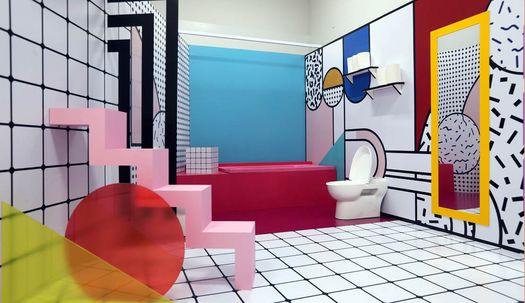 변기, 화장실의 변신은 예술?
