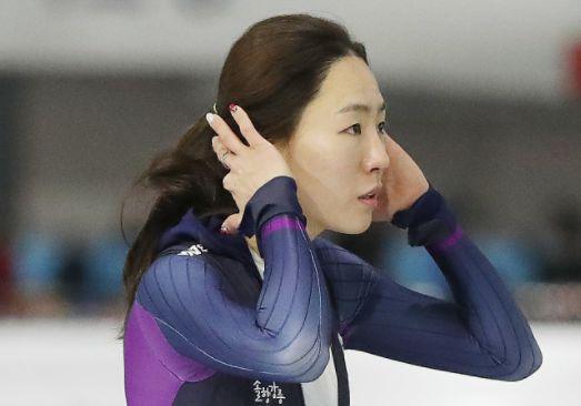 '빙속여제' 이상화전국체전 우승…38초21