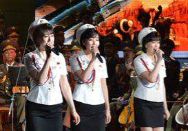 '북한판 소녀시대' 모란봉악단, 평창에 뜰까