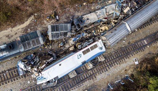 또 미국 암트랙 충돌, 2명 사망 116명 부상