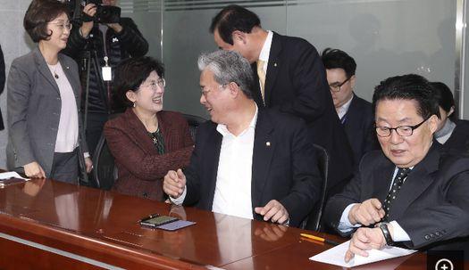박지원 의원 민주평화당 의원들에게  쓴소리