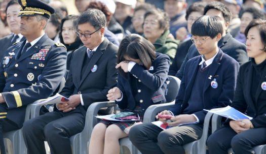 서해수호 55용사의 희생정신을 기리며..