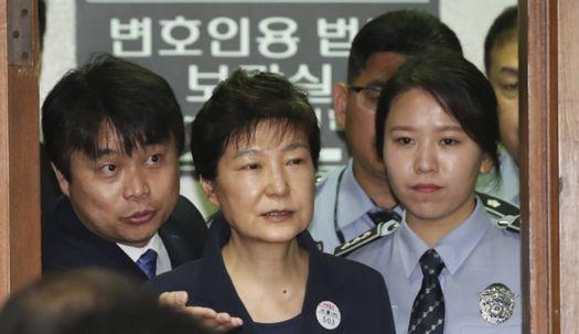 박근혜 전 대통령 구속부터 1심 재판까지