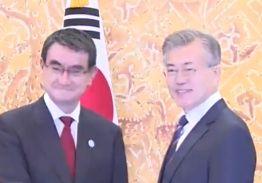 """文 대통령 """"한반도 비핵화 위해 일본이 건설적 역할 해달라"""""""