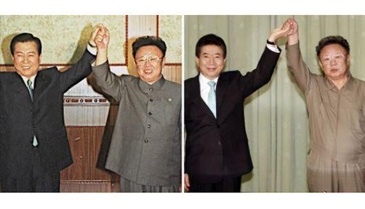 사진으로 보는 1·2차 남북정상회담