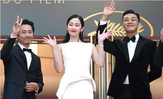 유아인, 영화 '버닝'으로 칸 영화제 첫 입성
