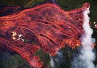 [서소문사진관]또 다시 하와이 화산 용암 분출, 주택가 덮쳐...