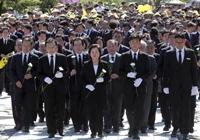 노무현 9주기 봉하마을 집결한 여권 …