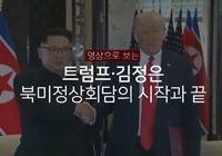 영상으로 보는 트럼프ㆍ김정은 북미정상회담의 시작과 끝