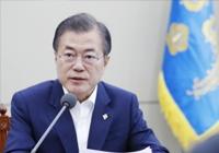 """文 """"北 비핵화·美 상응조치 속도 내야""""…폼페이오 """"韓 주도 역할"""""""