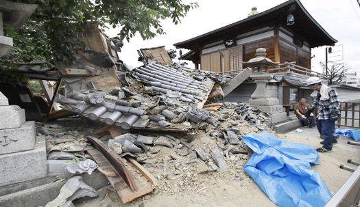 일본 오사카 강진 ....깨지고, 부서지고, 떨어지고...