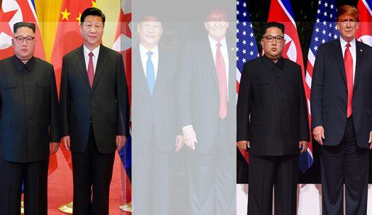 김정은 중국 갈 때도 키높이? 진짜 키는?