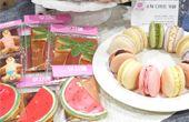 수박 마카롱·라떼 과일 디저트로 여름나기
