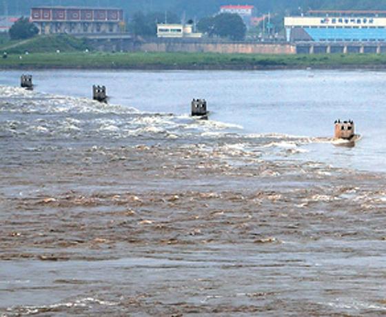 한강에 '명량'있다, 바닷물 역류 때 물회오리